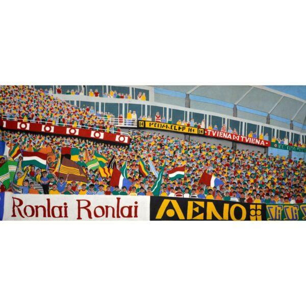 Stadium Crowd Scene Painted backdrop BD-0316