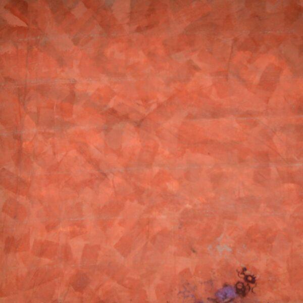 Mottled Orange Painted Backdrop BD-0472