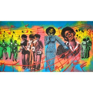 Legends of American Music Painted Backdrop BD-0483