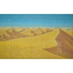 Sahara Desert Dunes Painted Backdrop BD-0687