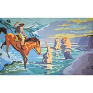 Man From Snowy River Painted Backdrop BD-0905