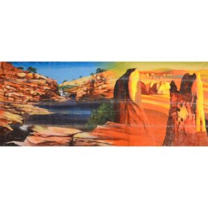 Northern Territory Montage Painted Backdrop BD-0906