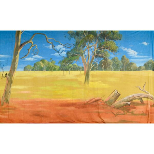Australian Outback Landscape Painted Backdrop BD-0907