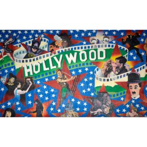 Hollywood Golden Age Painted Backdrop BD-0224