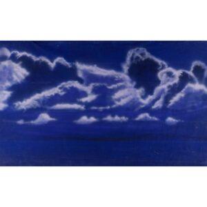 Dark Clouds Painted Backdrop BD-1020