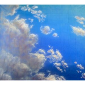 Sky with Clouds Painted Backdrop BD-1021