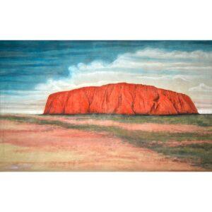 Uluru Painted Backdrop BD-1040
