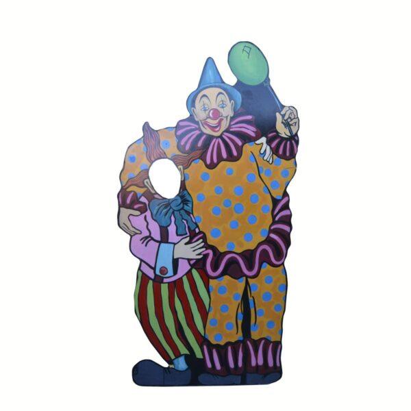Cutout - Two Clowns Photo Op