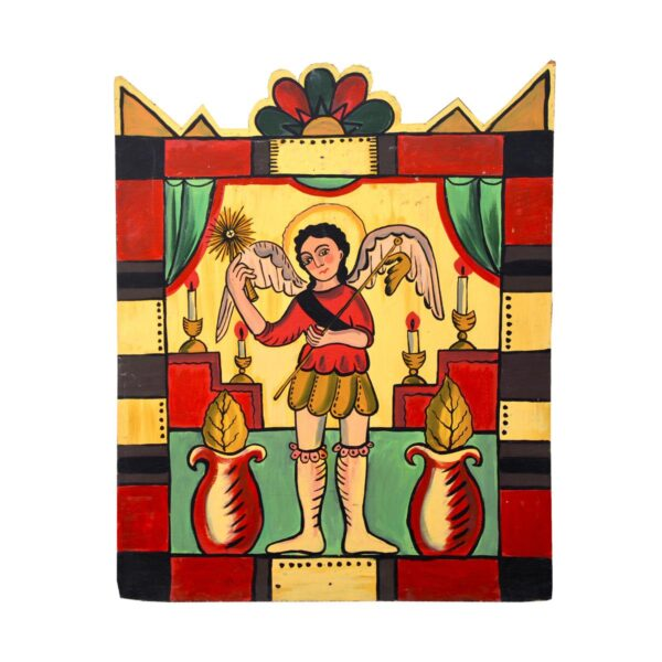 Cutout - Mexican Religious - Winged Figure