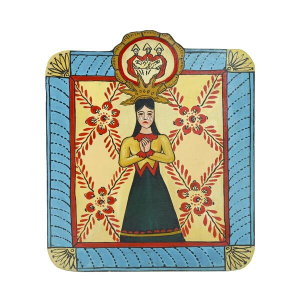 Cutout - Mexican Religious - Madonna Tears