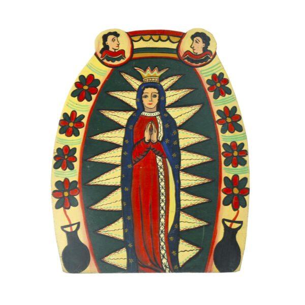 Cutout - Mexican Religious - Praying Madonna