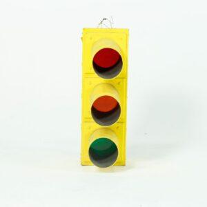 Non-Working Yellow Traffic Lights