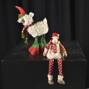 Christmas Soft Toy Figurine