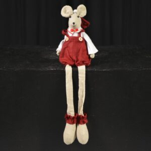 Christmas Mouse Soft Toy