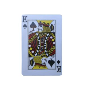 Cutout - King of Spades Playing Card