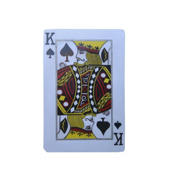 Cutout - King of Spades Playing Card