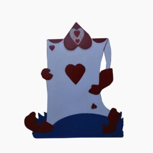 Cutout - Ace of Hearts Soldier Card
