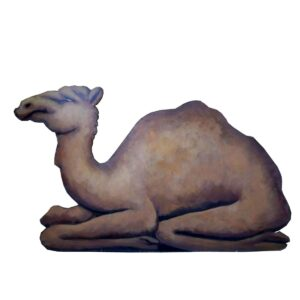 Cutout - Camel Sitting Facing Left