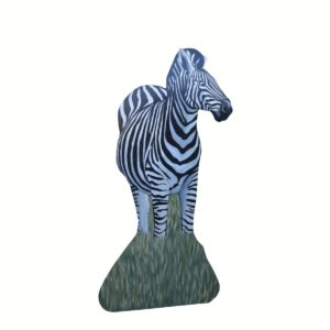 Cutout - Zebra Standing in Grass B
