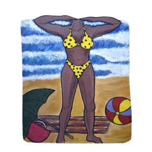 Cutout - Yellow Bikini Photo Op.