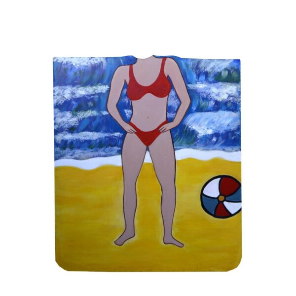 Cutout - Red Bikini Photo Op.