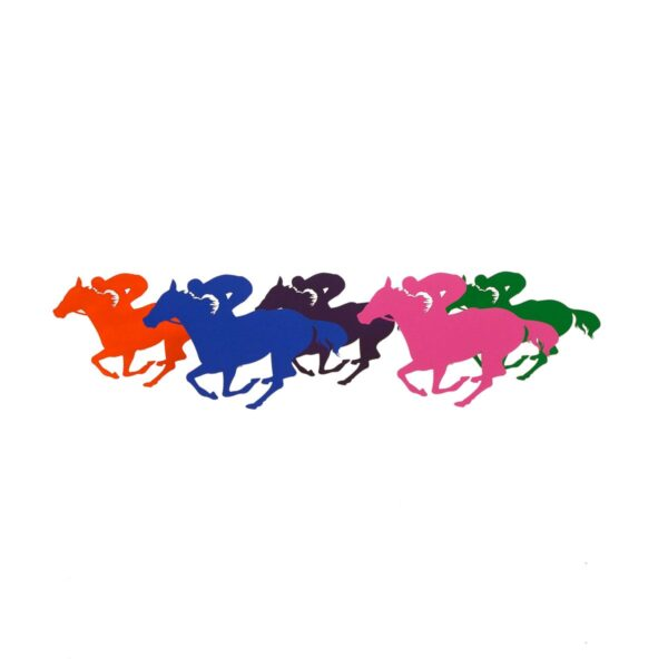 Cutout - Racehorse Silhouette