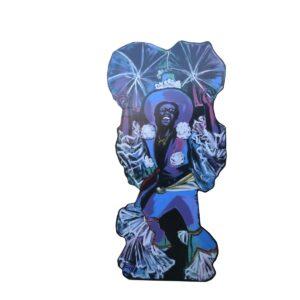 Cutout - Rio Carnival Dancer B