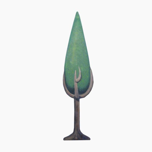 Cutout - Conical Tree A
