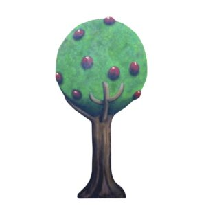 Cutout - Fairy Apple Tree B