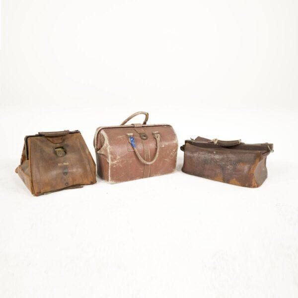 doctors medical leather bag for hire - sydney props