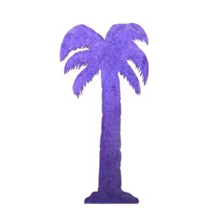 Cutout - Palm Tree with Glitter