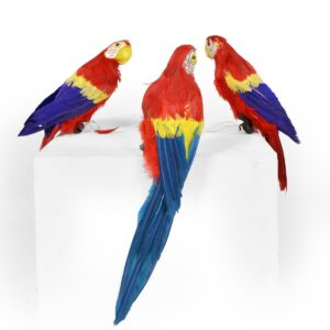 Animal - Parrot Red with Blue Wings