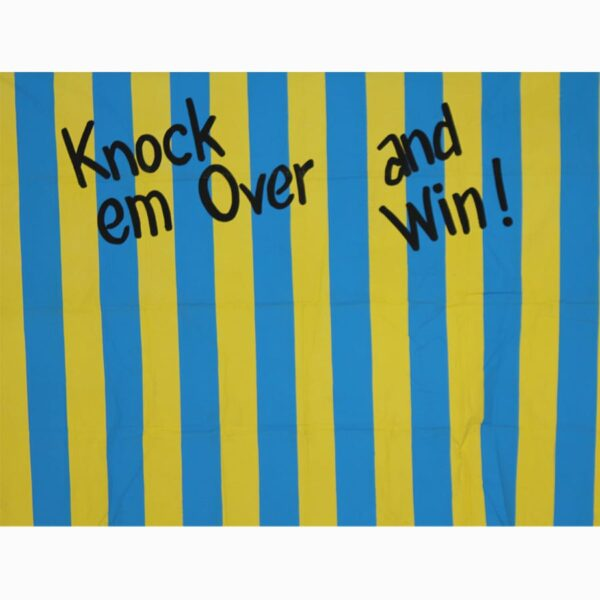 Knock em Over and Win Painted Backdrop BD-1024