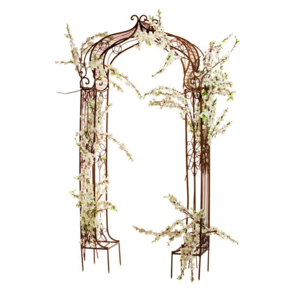 Apple Blossom, on rustic arch
