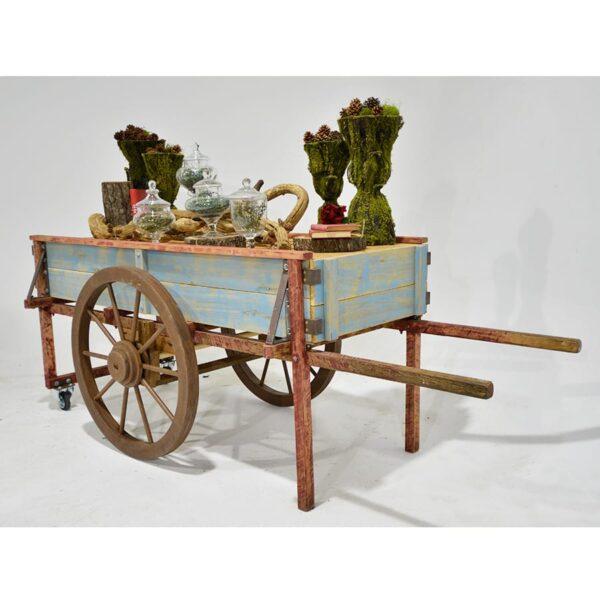 Cart 21: Large Rustic Peasant Cart-18234
