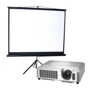 Compact AV - Projector and Screen