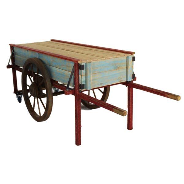 Cart 21: Large Rustic Peasant Cart