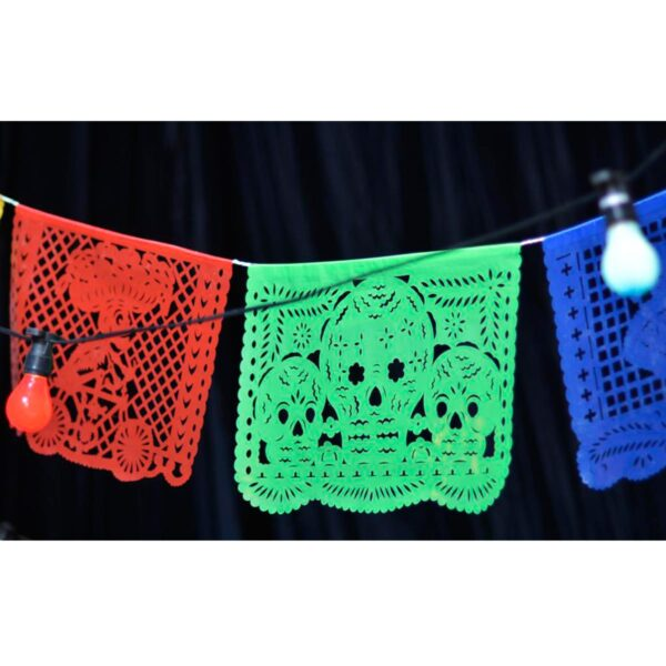 Mexican Bunting, multi-coloured