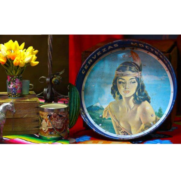 Mexican Assorted Tins and Plates
