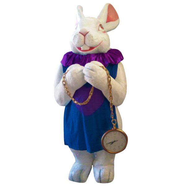Bunny Girl Holding Pocket Watch