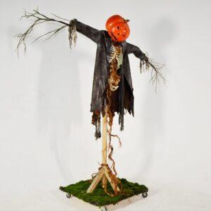 Horror - Life-size Pumpkinhead Scarecrow
