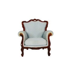Regency Armchair, Duck Egg Blue-0