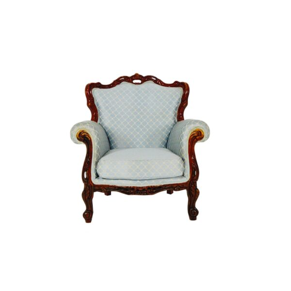 Regency Armchair, Duck Egg Blue-0