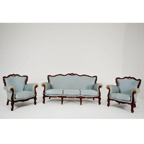 Regency Armchair, Duck Egg Blue-18233