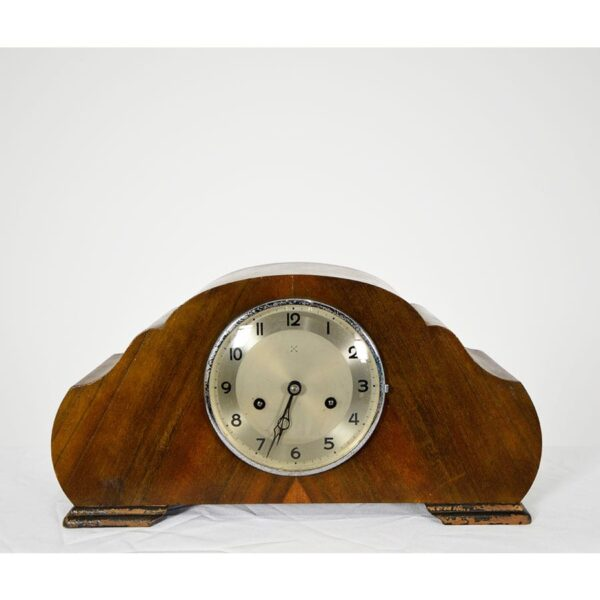 Mantel Clocks, Vintage Wooden-18552