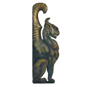 Asian Winged Dragon Statue-0