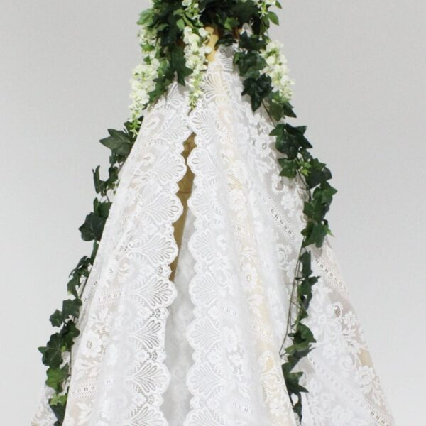 Teepee, White Lace-18452