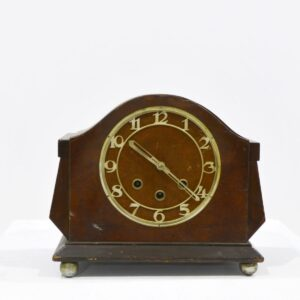 Mantel Clocks, Vintage Wooden-0