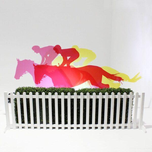Perspex Coloured Horse Flat-18391
