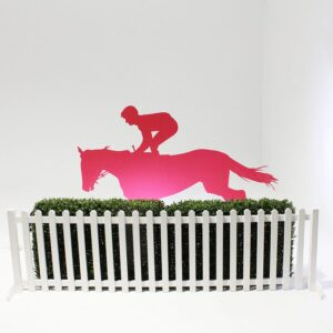 Perspex Coloured Horse Flat-0